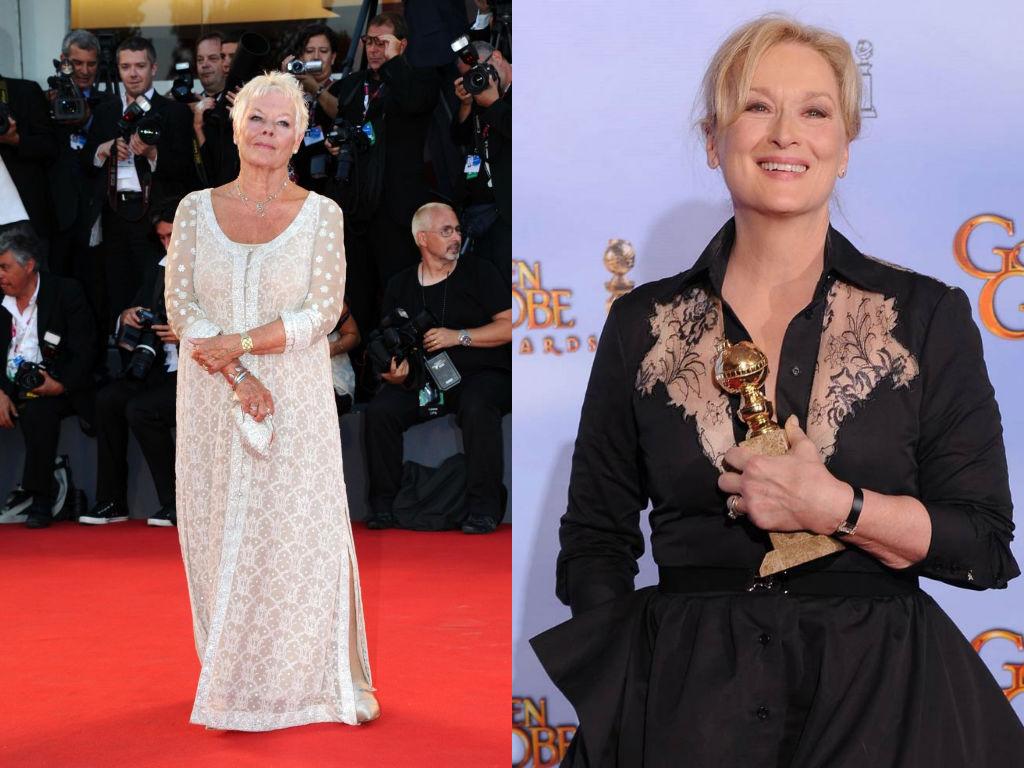 Лучшие наряды номинанток на Оскар 2014 в минувшем году