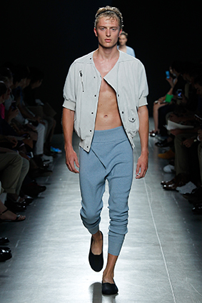 Миланская Неделя мужской моды: Bottega Veneta, весна-лето 2015