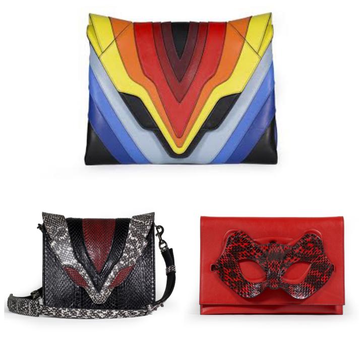Неделя моды в Милане: радужные сумки Elena Ghisellini