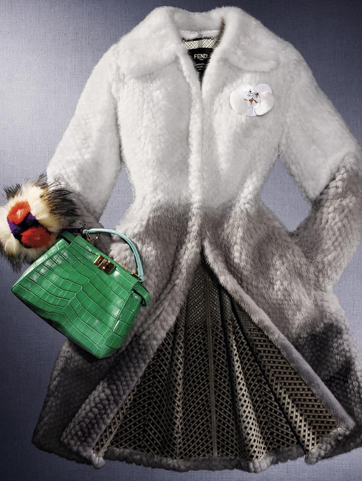 FENDI выпустил ограниченную коллекцию для нового бутика