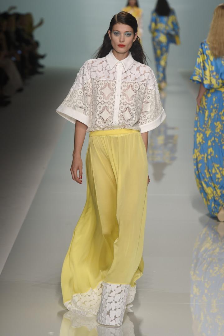 Неделя моды в Париже: Emanuel Ungaro