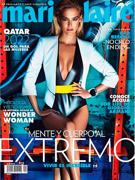 Бар Рафаэли на обложке Marie Claire Мексика