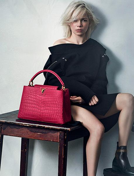 Мишель Уильямс – лицо Louis Vuitton