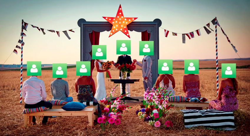 Виртуальные свадьбы: смешная забава или наше будущие?