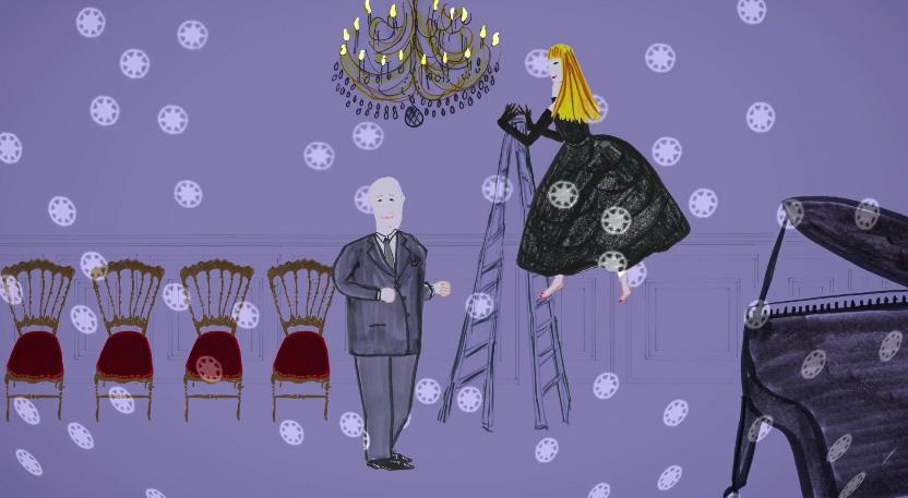 """Мультфильм """"Роза ветров"""" Dior"""