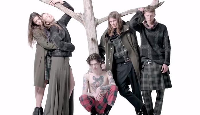Рекламный ролик Versus Versace