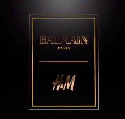 Коллаборация  H&M и Balmain