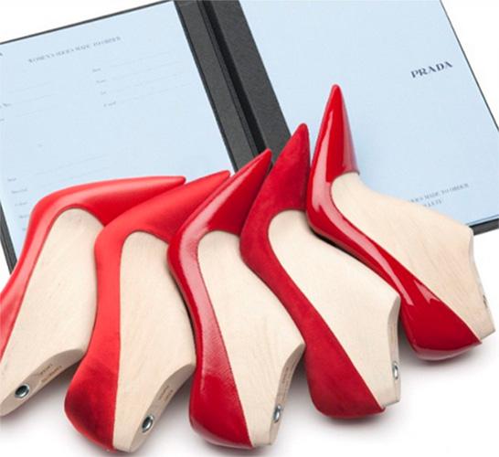 Лодочки Prada по собственному дизайну