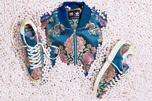 Коллаборация Фаррелла Уильямса и Adidas