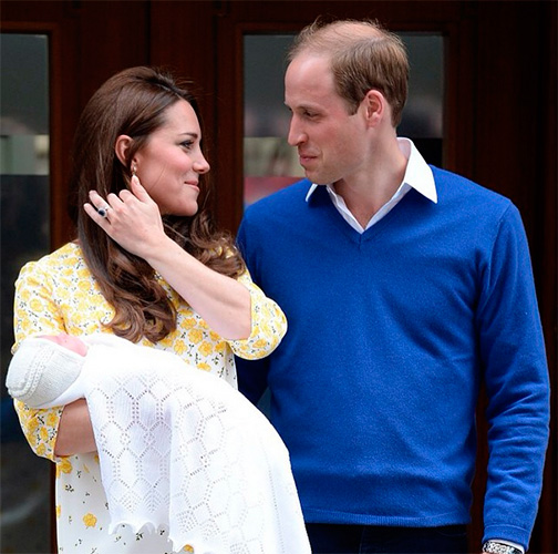 Шарлотта или Элис? – имя новорожденной принцессы