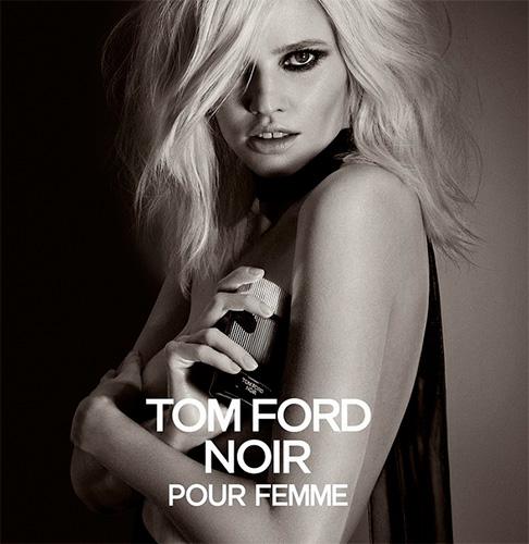 Лара Стоун – лицо аромата Tom Ford