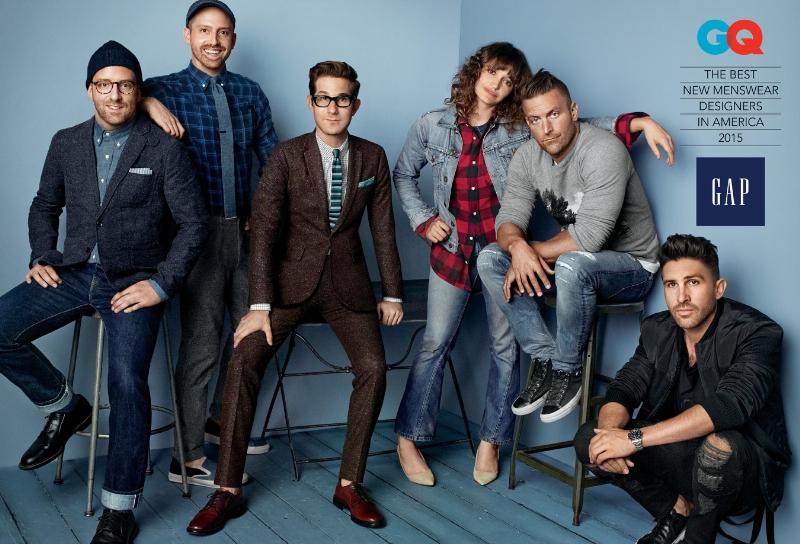 Gap представляет новую эксклюзивную коллекцию мужской одежды