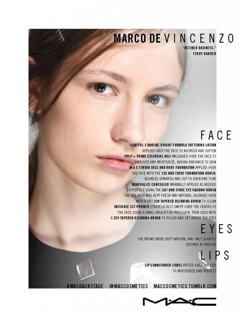 MAC COSMETICS бьюти-отчет с Недели моды в Милане