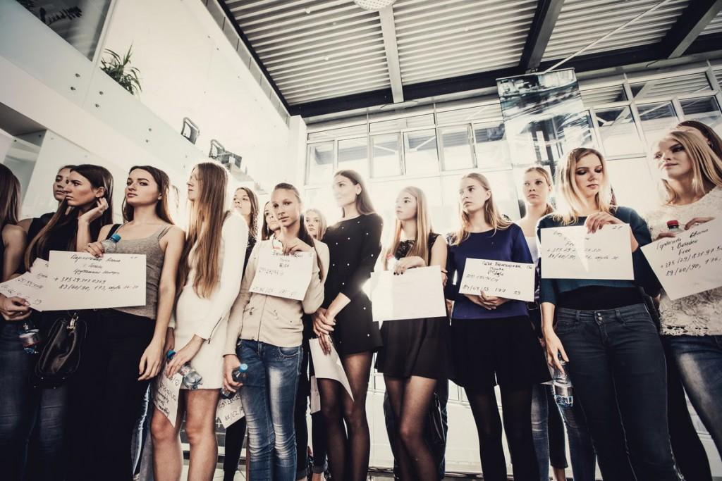 Кастинг моделей для участия в показах проекта Belarus Fashion Week SS 2016 прошёл в Минске
