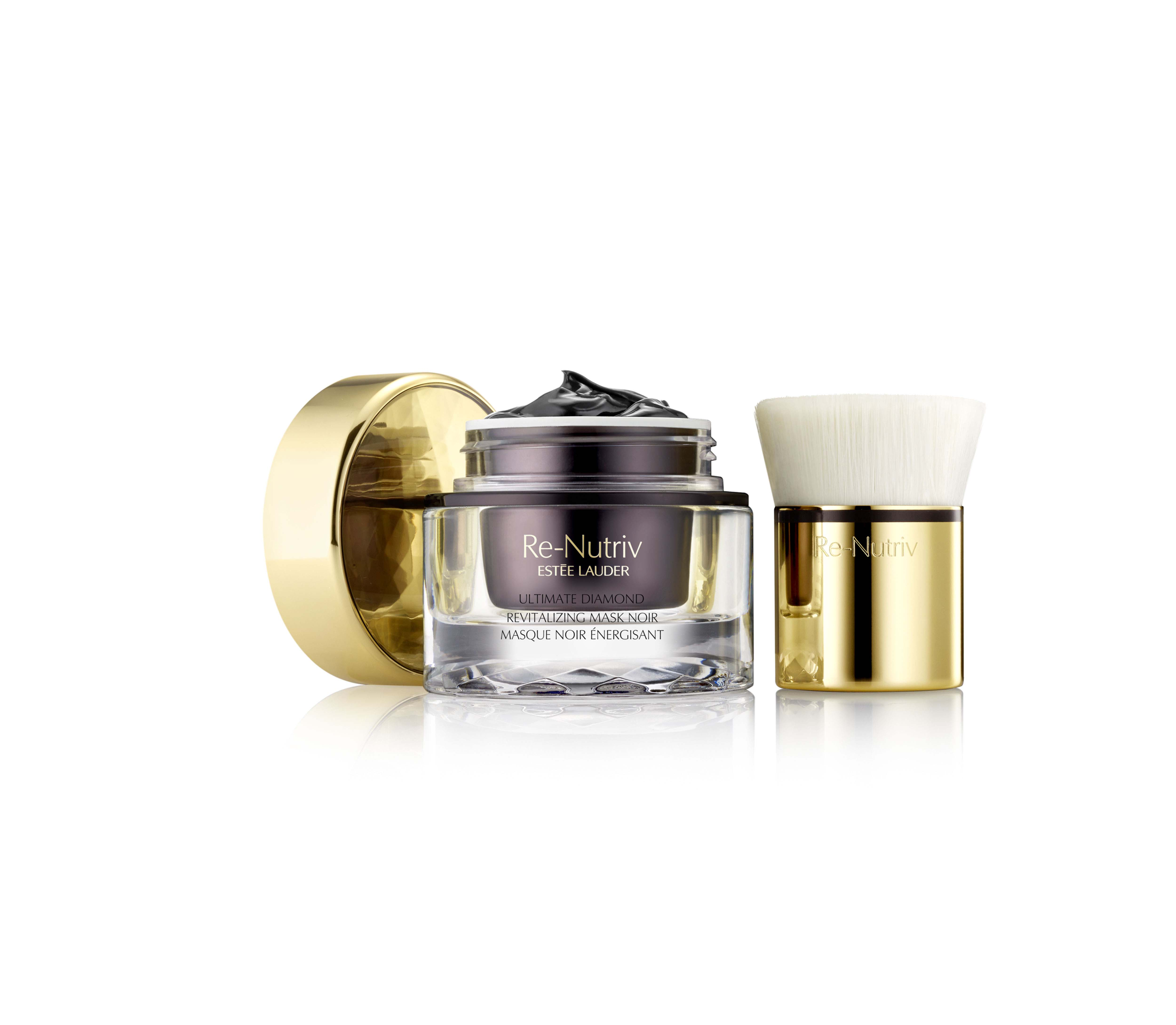 Etee Lauder_Re_Nutriv_Ultimate_Diamond_Mask_Noir_Mask_+_Brush_Product_Shot_low