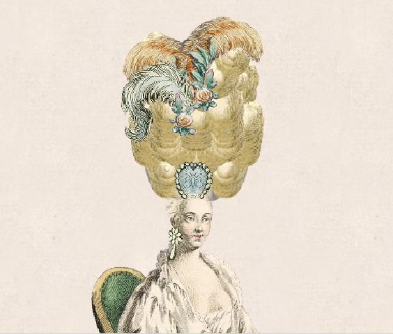 Причёска для средневековой дамы