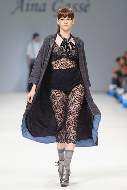 Aina Gasse  AW16-17 Ukrainian Fashion Week
