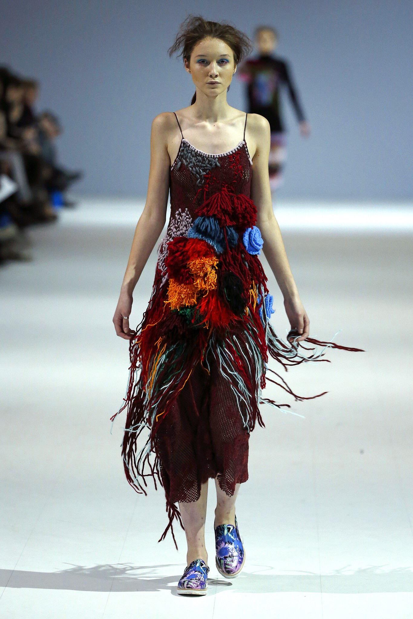 Yana Chervinska  AW16-17 Ukrainian Fashion Week