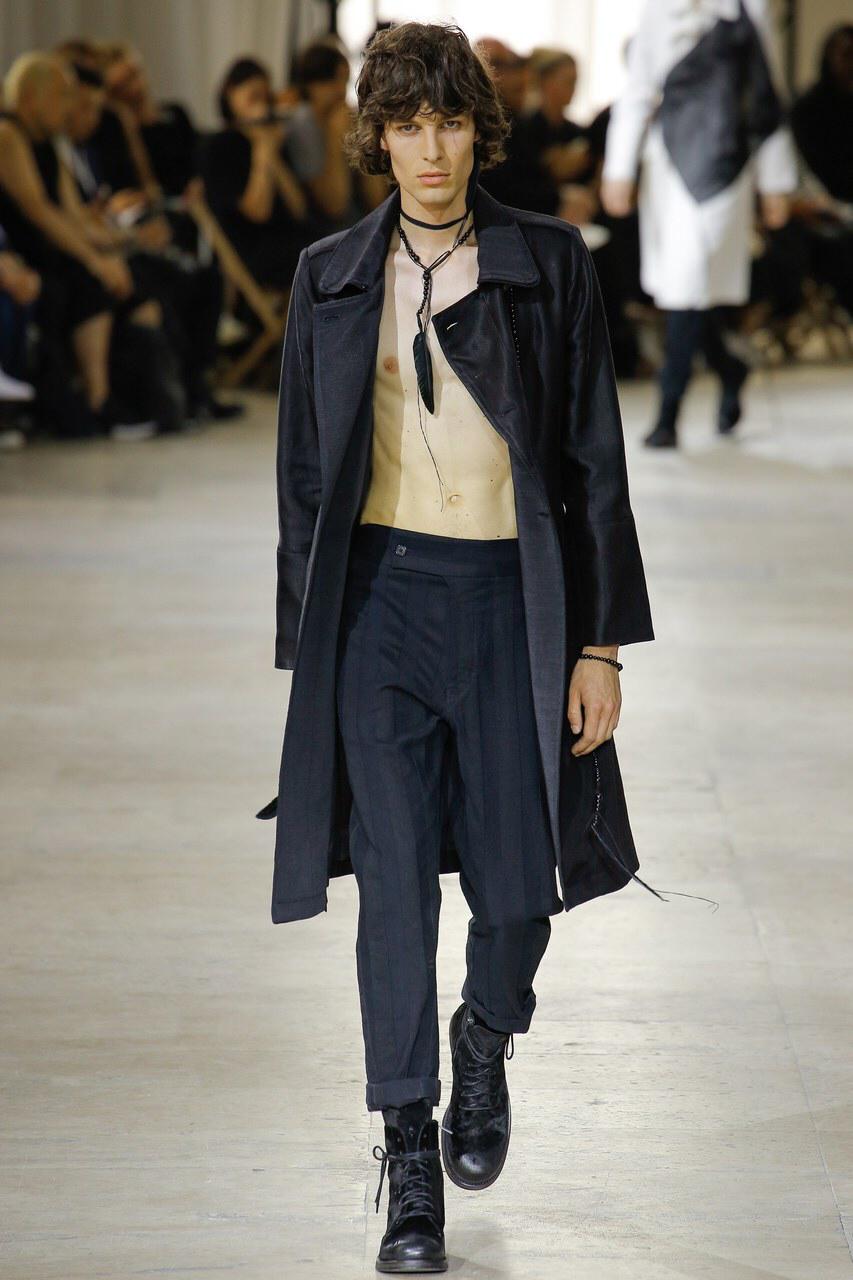 Ann Demeulemeester SPRING 2016 Menswear
