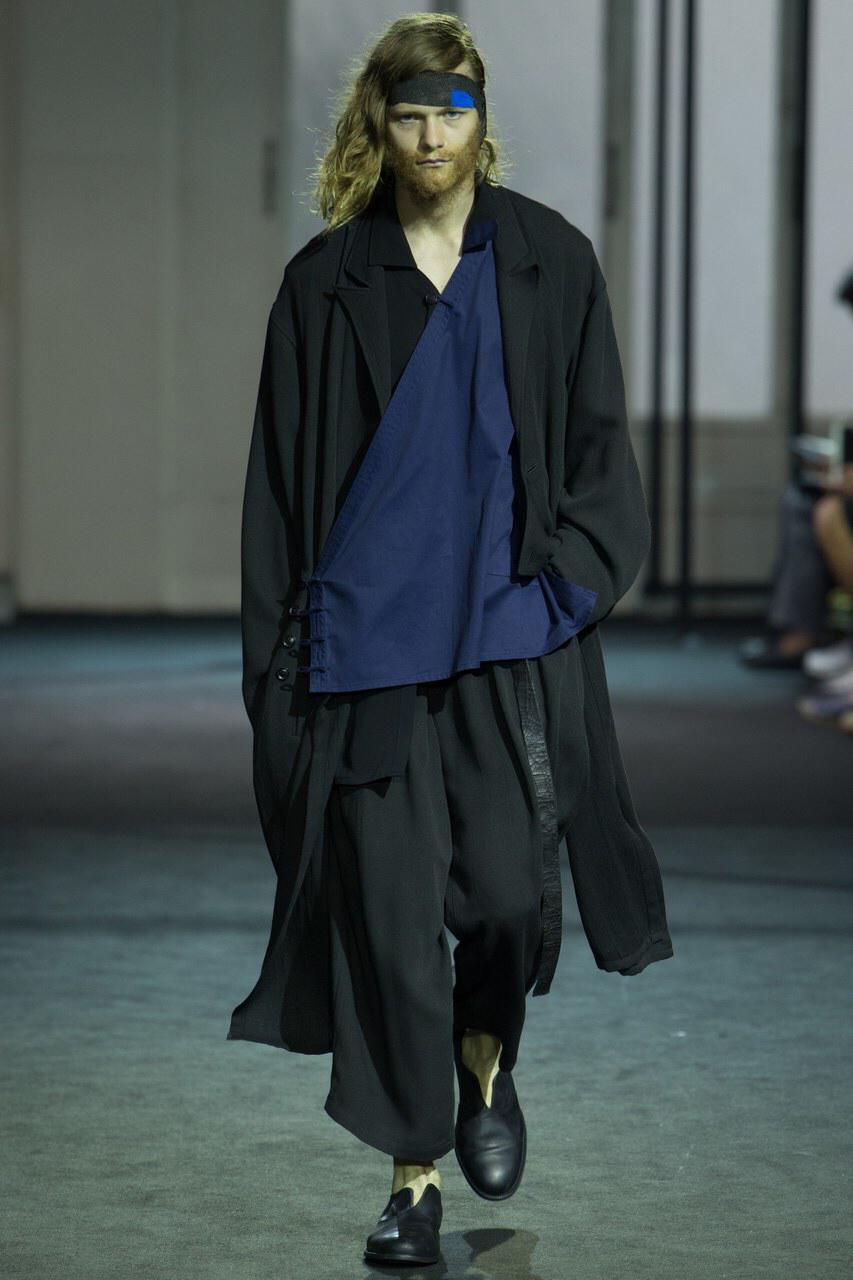Yohji Yamamoto SPRING 2016 Menswear