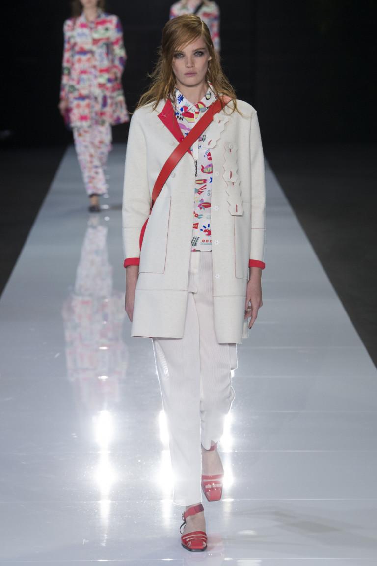 Emporio Armani Spring 2018 Ready-to-Wear
