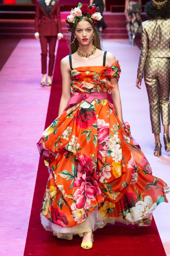Dolce & Gabbana Spring 2018 Ready-to-Wear