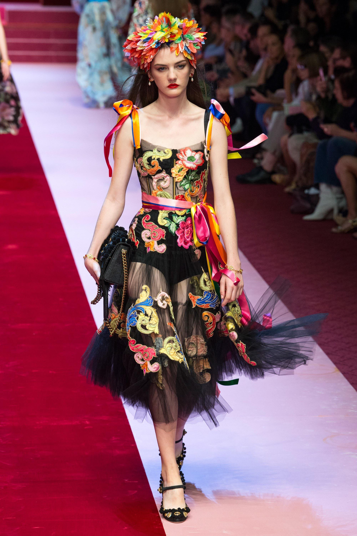 Dolce & Gabbana Spring 2018 Ready-to-Wear