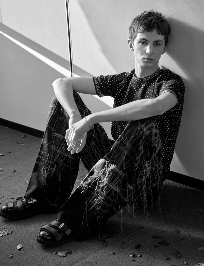 Осенняя коллекция Dior Homme 2017
