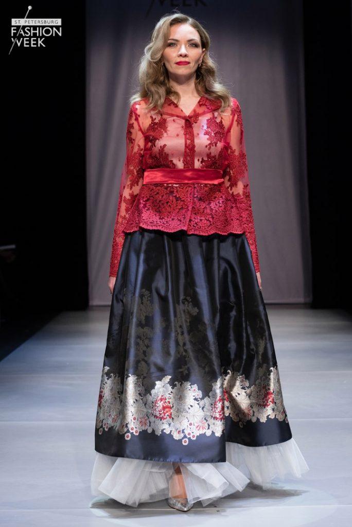 Anna Ovchinnikova St.Petersburg Fashion Week SS18