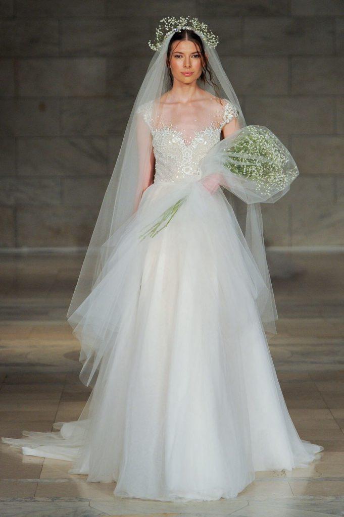 Reem Acra Bridal Fall 2018