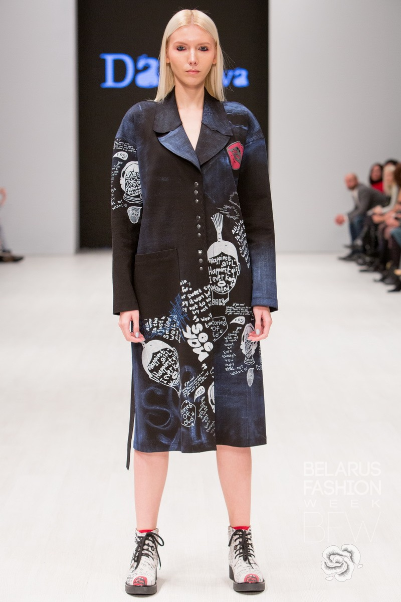 DAVIDOVA Belarus Fashion Week SS18