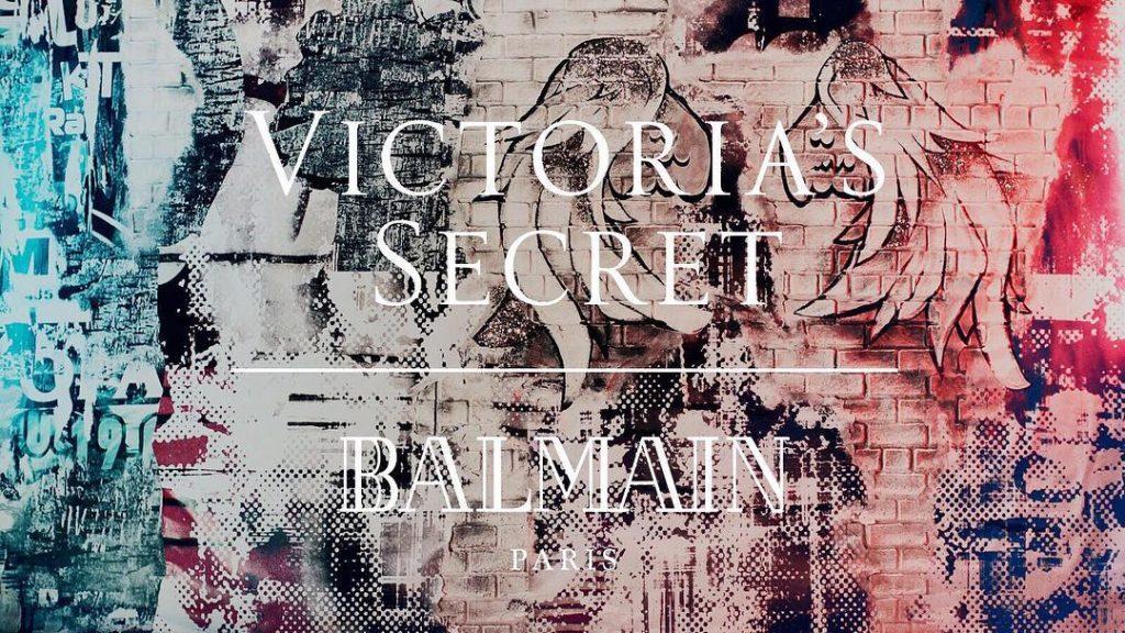 Balmain ГОТОВИТ КОЛЛАБОРАЦИЮ С Victoria's Secret