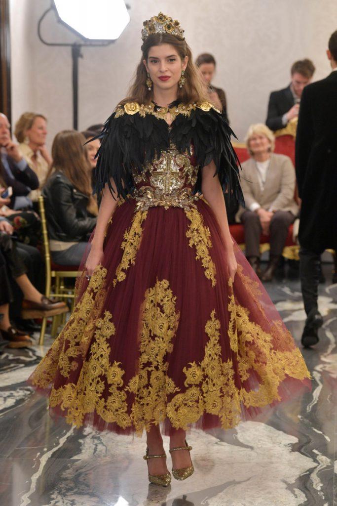 Dolce&Gabbana Alta Moda  2018 London