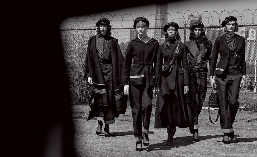 Патрик Демаршелье снял фотосерию для Dior