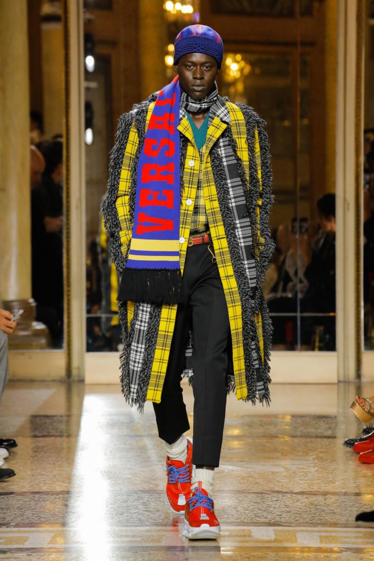 Versace Fall 2018 Menswear