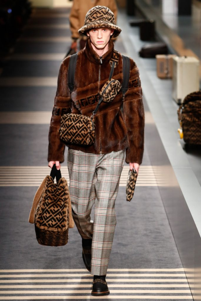 Fendi Fall 2018 Menswear