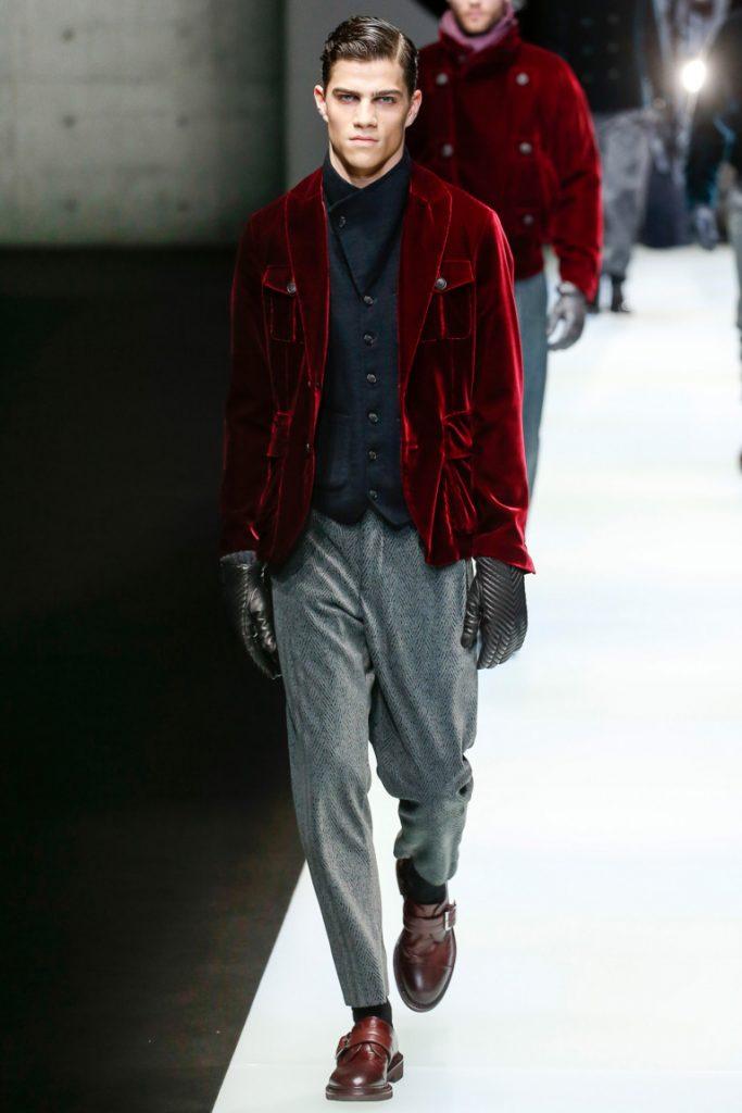Giorgio Armani Fall 2018 Menswear