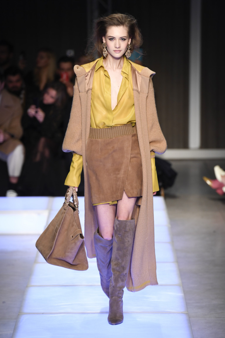 Les Copains Milan Fashion Week Fall-Winter 18-19