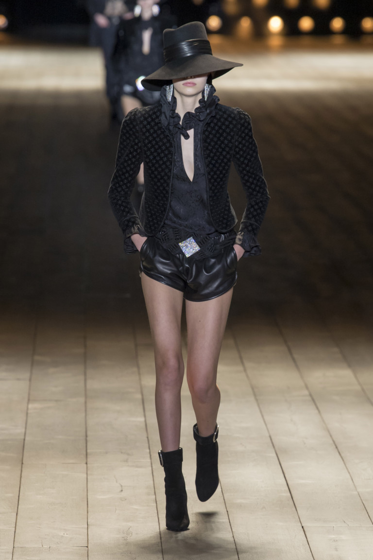 Saint Laurent Paris Fashion Week Fall-Winter 18-19