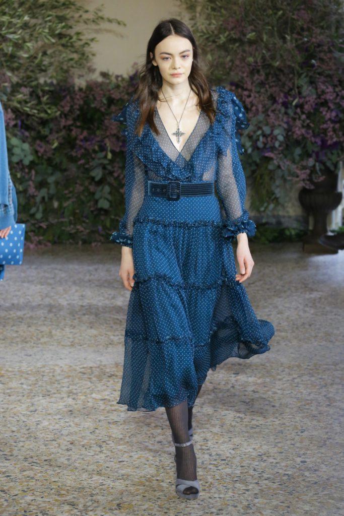 Luisa Beccaria Milan Fashion Week Fall-Winter 18-19
