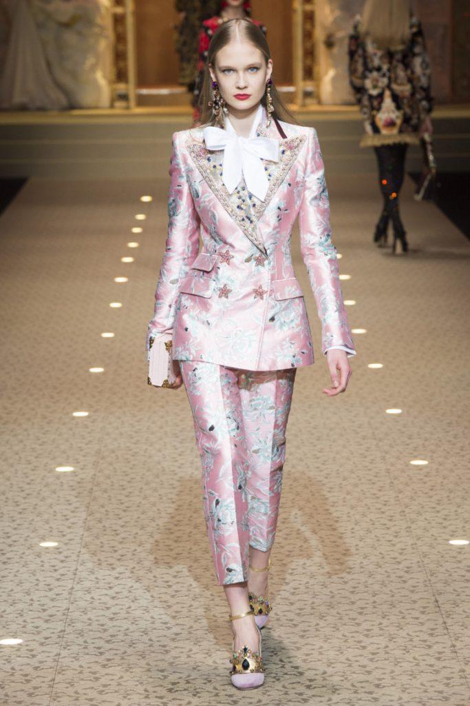 Dolce & Gabbana Milan Fashion Week Fall-Winter 18-19