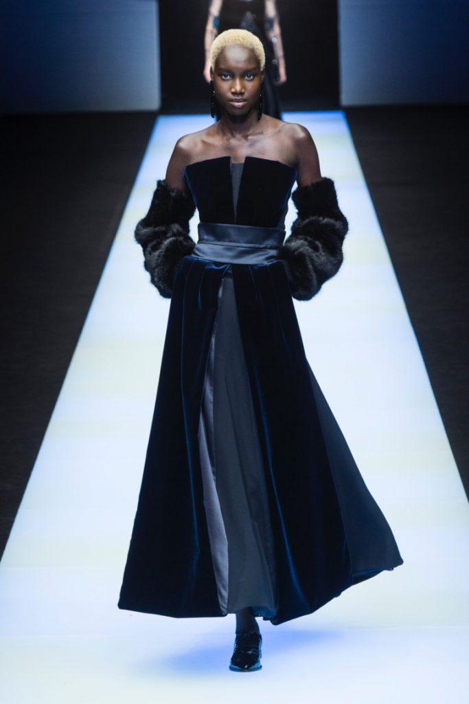 Giorgio Armani Milan Fashion Week Fall-Winter 18-19