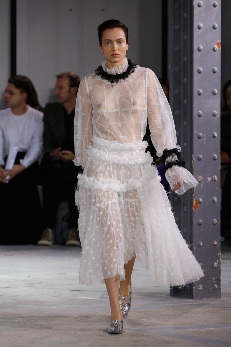 Anaïs Jourden Paris Fashion Week Fall-Winter 18-19