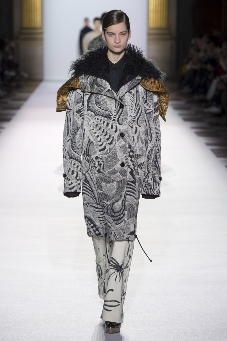 Dries Van Noten Paris Fashion Week Fall-Winter 18-19