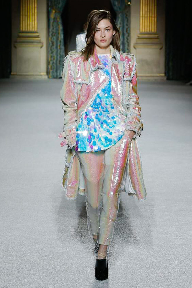 Balmain Paris Fashion Week Fall-Winter 18-19