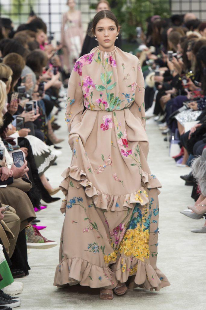 Valentino Paris Fashion Week Fall-Winter 18-19