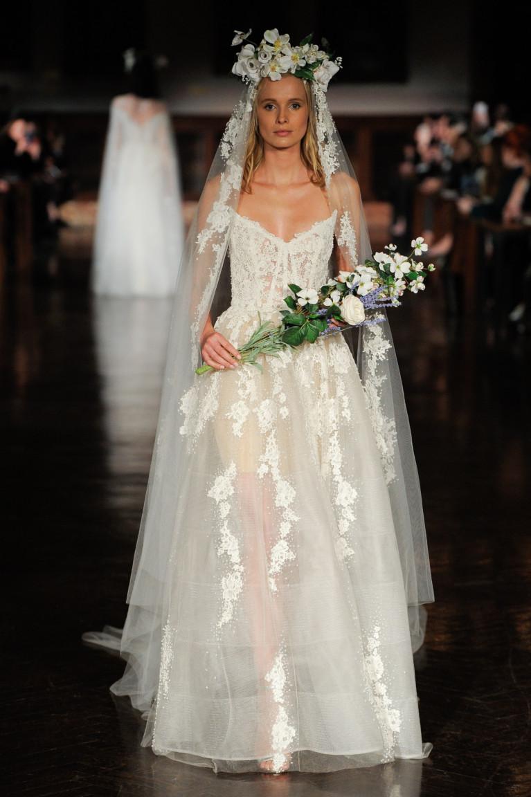 Reem Acra Bridal Spring 2019