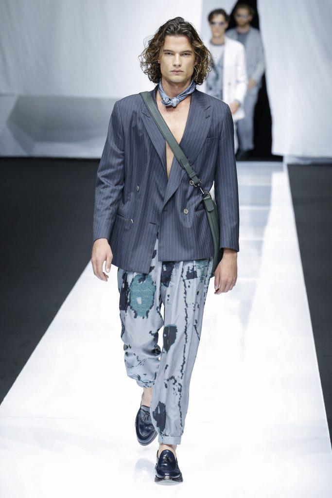Giorgio Armani Meswear SS 2019