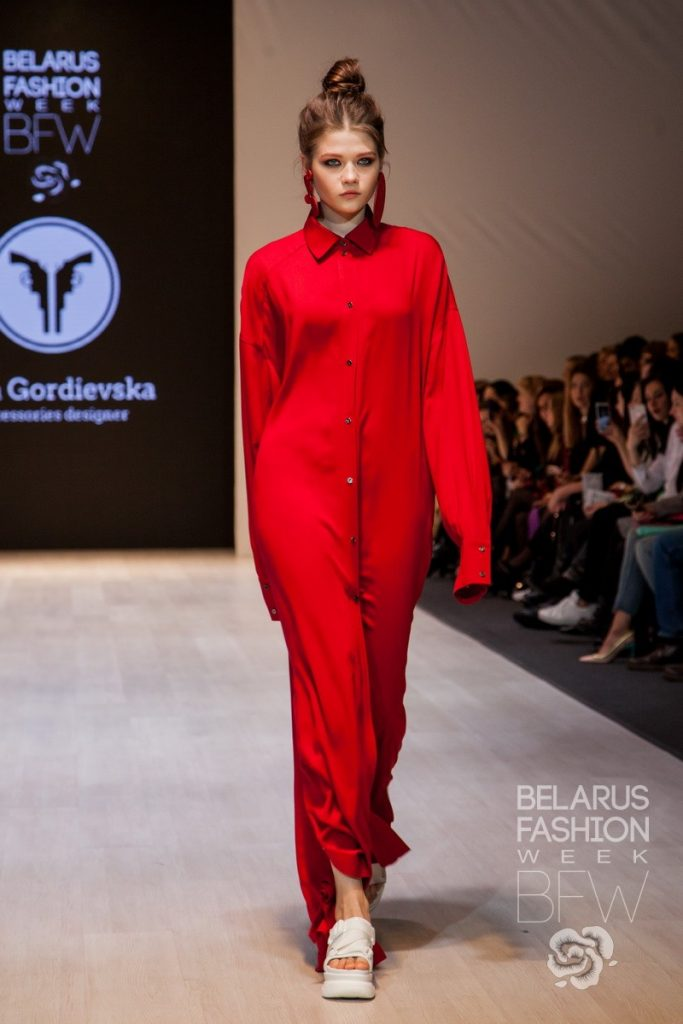 Vita Gordievska Belarus Fashion Week SS 19