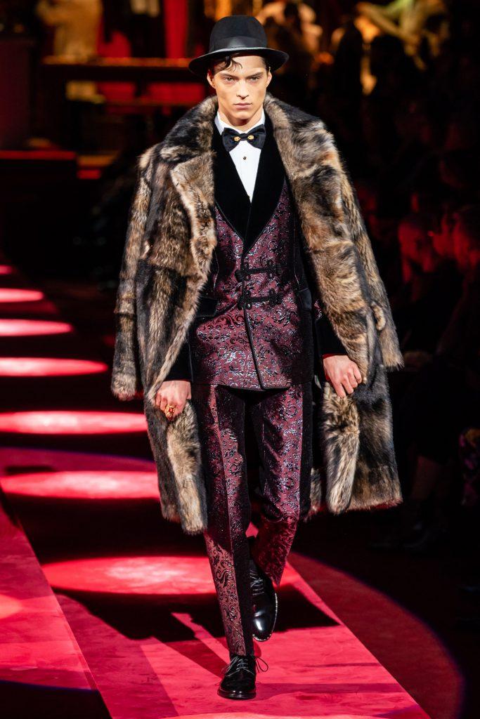 Dolce & Gabbana Fall 2019 Menswear